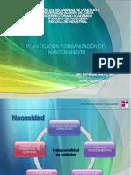 Clase5.Planificacion y Organizacion Del Mant