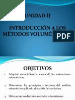 Introducción a Los Métodos Volumétricos