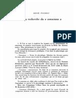 R. Pucheu - A La Recherche Du ''Consensus''