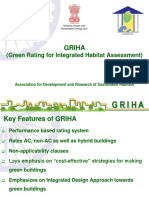 GRIHA Criterion Wise Run Through