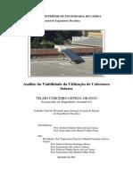 TESES Análise Da Viabilidade Da Utilização de Colectores