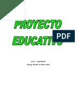 Proyecto Educativo 2008 Castelar