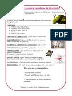 Guia Para La Elaboración de Informe de Lab