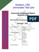 #5 Community Assessment Report Sample