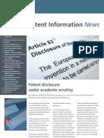 EPO Patent Info News 1003 En