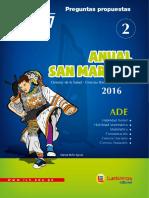 Personal Social (Boletín Nº 02 - Ab1 Sm 2016)