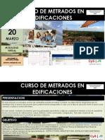 Informacion Curso de Metrados en Edificaciones Virtual