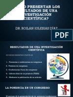 Presentacion de Como Presentar Resultados de Investigacion [Autoguardado]