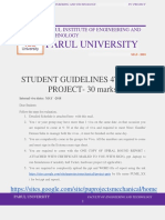 _4th Sem 30 Marks Ext Exam_student Guidelines_ Pu_ Projects-2018-Summer 2018