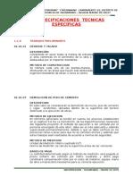 Especificaciones Tecnicas Restaurant