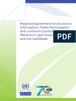 Regional Agreement on Access to Information