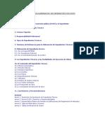 Consideraciones Para Elaboracion de Expedientes Tecnicos