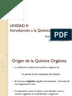 UNIDAD 0 Introducción a La Química Orgánica (1)