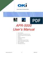 APR-5000 User Manual 7000-1370_D2