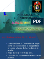 5. Introduccion a La Criminalística
