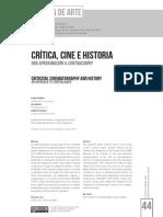 Critica, Cine e Historia