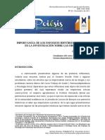 Importancia de Los Enfoques Medico e Historico en El Estudio de Las Drogas.