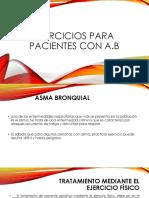 Ejercicios Para Pacientes Con Asma Bronquial