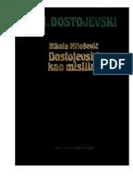 Nikola Milošević - Dostojevski Kao Mislilac