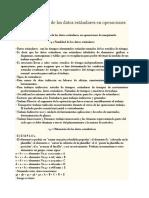 Determinación de Los Datos Estándares en Operaciones de Maquinado