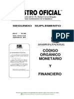 Texto Código Monetario-financiero