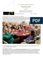May, 2018 Volunteer Flyer
