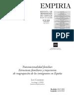 Transnacionalidad Familiar_Estucturas Familiares y Trayectorias