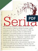Serifa Poster Comps