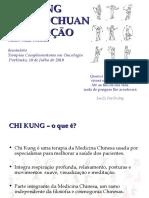 Chi Kung, Tai Chi Chuan e Meditação