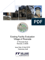 Existing Facility Evaluation Village of Riverside