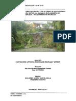 Diseño Geotécnico Muro de Contención Sector Los Naranjos