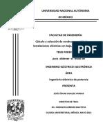 Cálculo y selección de conductores aislados para.pdf