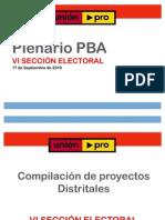 Presentación Plenario Sexta Sección