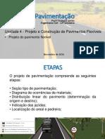 Aula 05 - Projeto Pavimentação