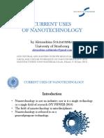 Presentation (Current Uses of Nanotechnology)