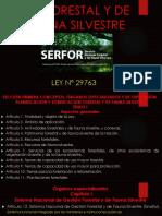 LEY FORESTAL Y DE FAUNA SILVESTRE.pptx