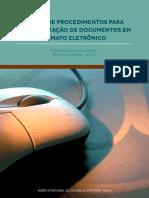 Manual de Procedimentos Para Protocolização de Documentos Em Formato Eletrônico