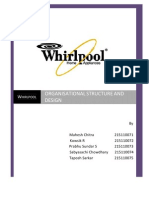 Whirlpool - Organisational Structure and Analysis