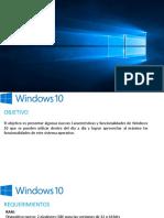 Novedades y Caracteristicas en Windows 10.pptx