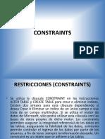 Constraints_SQL SERVER