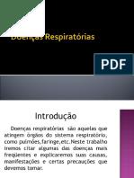 Doenças Sistema Respiratório