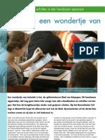 Over Onderwijs WondertjeVanTechniek Apr07