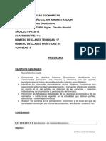 Programa de Sistemas Econ 2015