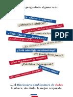 Sala Prensa Dosier Diccionario Panhispanico de Dudas