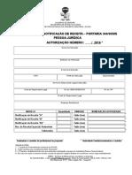 Modelo de Autorização Pessoa Jurídica 1