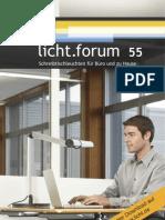 """licht.forum 55 """"Schreibtischleuchten für Büro und Zuhause"""""""