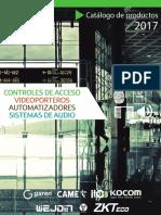 Catalogo 2017 Acceso Autom Videop