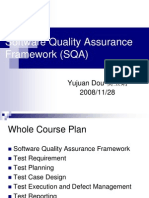 Software Quality Assurance Framework