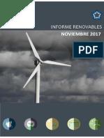 Informe Renovables NOV 2017