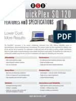 MESO QuickPlex SQ 120 - Features and Specifications